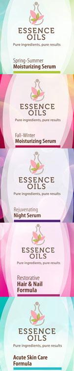 Essence Oils natural formulas